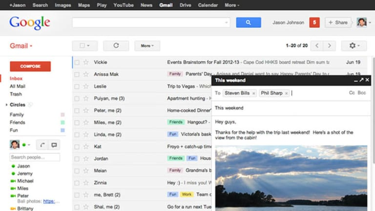 Google allows software developers from outside the company to read through users' inboxes.