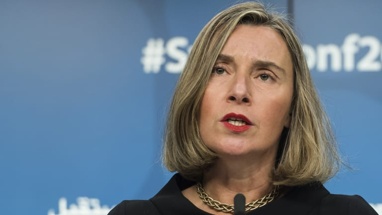 European Union foreign policy chief Federica Mogherini is determined to save the 2015 deal with Iran.