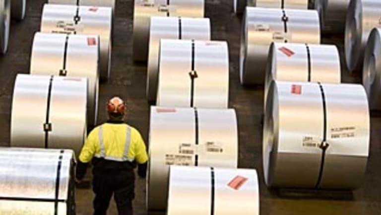 Steelmaker BlueScope says Mr Trump's proposed stiff new tariffs would affect exports from Australia.
