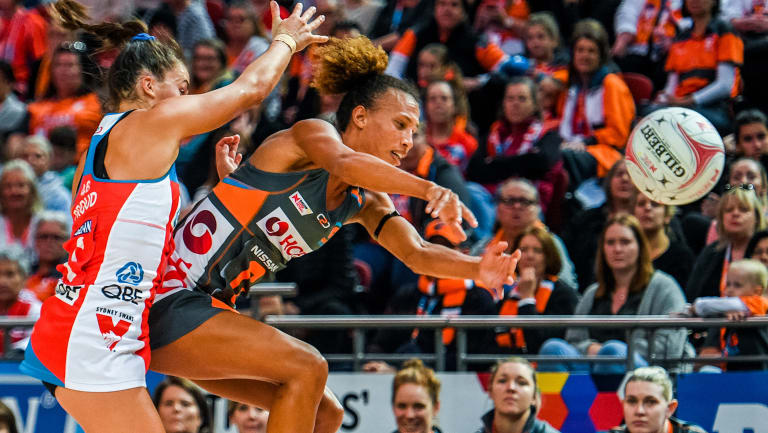 Dynamic: English import Serena Guthrie has been in superb form for the Giants.