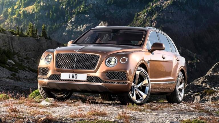 Bentley's Bentayga.