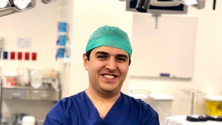 Urological surgeon Dr Nari Ahmadi at Chris O'Brien Lifehouse