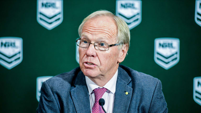 Financial footing: Peter Beattie.