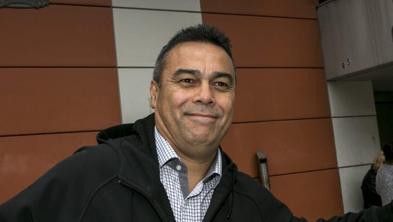 Senior Constable Simon Mareangareu.