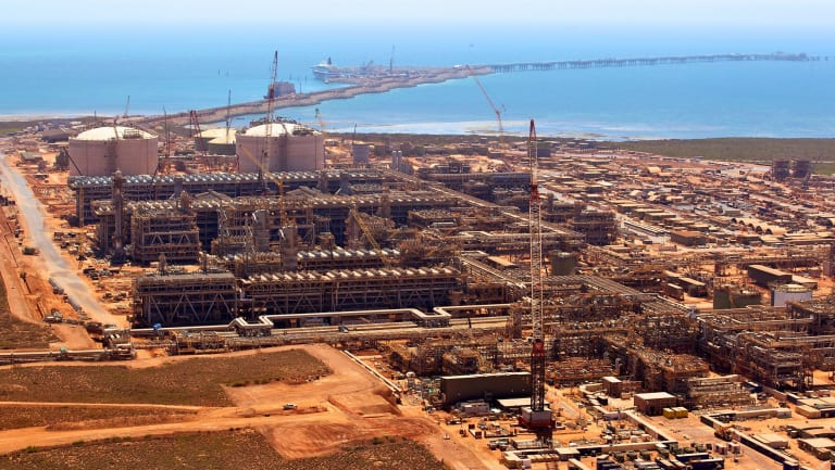 The multibillion-dollar Gorgon LNG project.