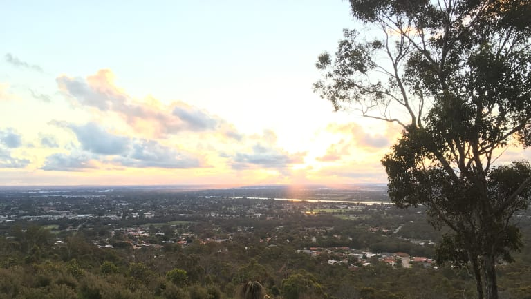View from the top: One of Armadale's best assets is its hills.