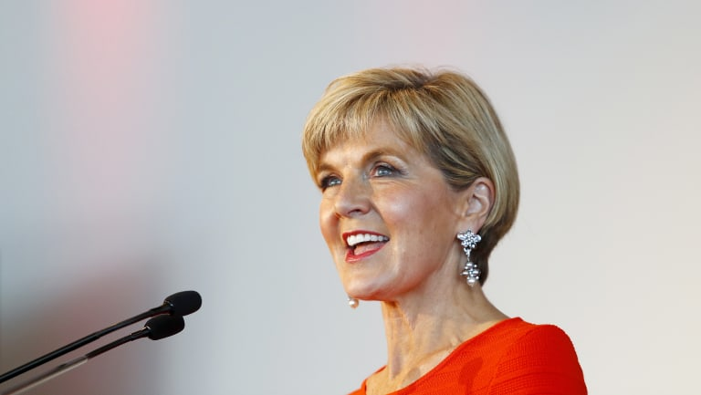 Foreign Minister Julie Bishop announced the Emerging Market Impact Investment Fund, which will use loans, equity, guarantees and other financial instruments to invest in funds that target early-stage SMEs.
