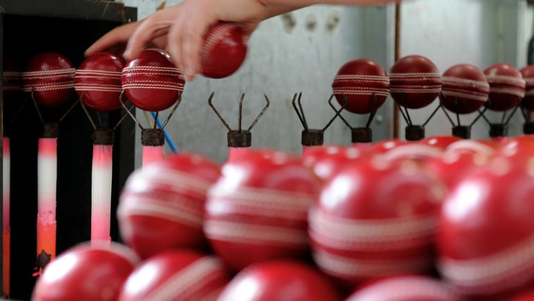 Evolution: The Kookaburra Factory in Moorabbin, Melbourne. The company is now trialling T20-only balls.