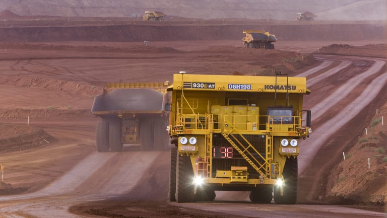 Shares in big miners Rio Tinto and BHP are driving higher.