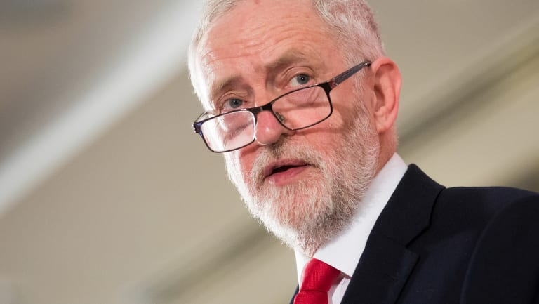 Wants debate: UK's Labour leader Jeremy Corbyn.