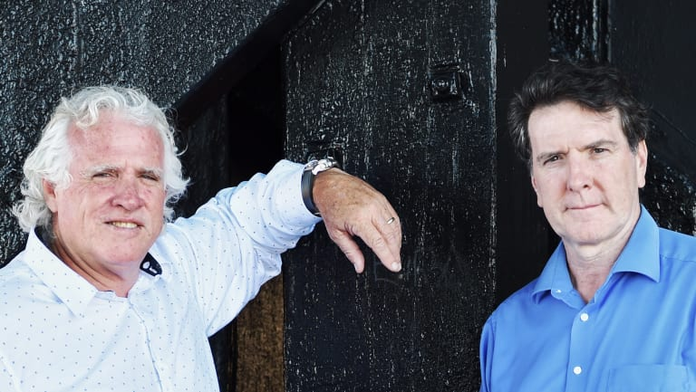 Leaders of the merged construction and maritime unions, Michael O\'Connor and Paddy Crumlin