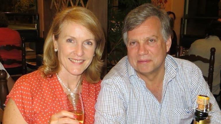 Theresa van Breda and her husband Martin.