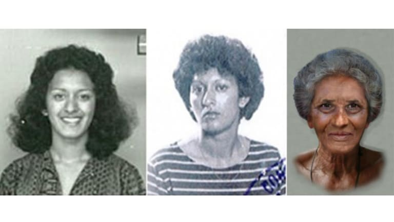 Angina Pal was last seen in Victoria in May 1984 and would now be 60-years-old.
