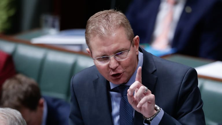 Workplace Minister Craig Laundy