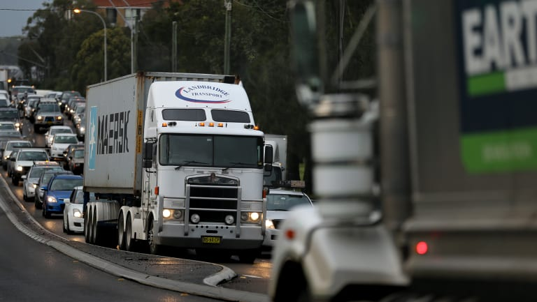 Long haul trucking is part of the Australian business landscape.