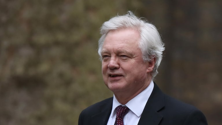 British media has reported that David Davis, UK Brexit secretary has resigned.