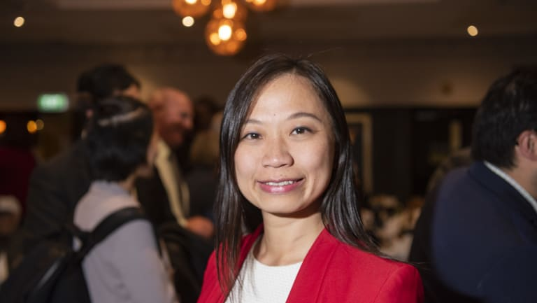 Ms Capp held off a late charge from Labor-affiliated candidate Jennifer Yang.