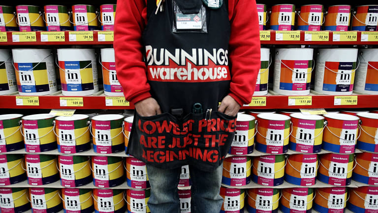 A slowing housing market is set to hurt Bunnings.