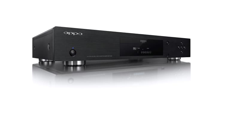 Oppo's UDP-203 is an Ultra HD Blu-Ray player for audiophiles.