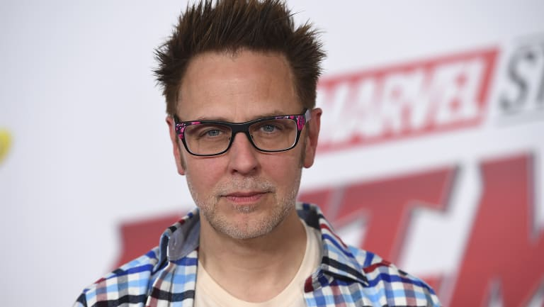 'I have regretted them for many years since': James Gunn apologised for the since-deleted tweets.