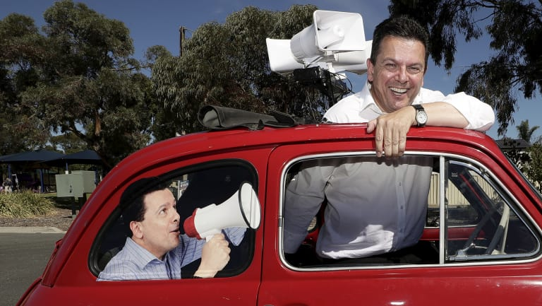 Xenophon expected to skate to electoral success on the back of a series of stunts.