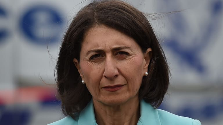 Gladys Berejiklian said she intended to pursue the controversial stadium policy.