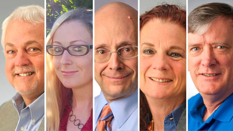 Staff members killed in Annapolis. Columnist Rob Hiaasen, sales assistant Rebecca Smith, editorial page editor Gerald Fischman, special publications editor Wendi Winters and writer John McNamara.