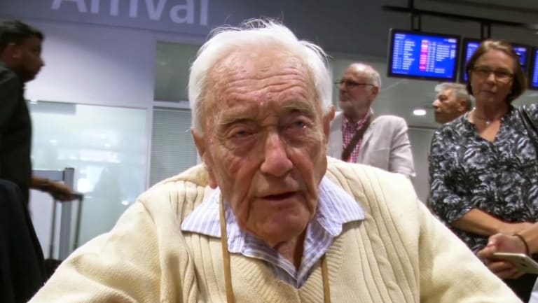 David Goodall, 104,, travelled to Switzerland to take advantage of the nation's laws on assisted suicide.