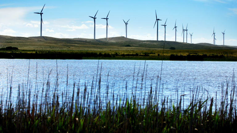 The ACCC wants to cap market control levels but supported companies expanding their share by building new generation such as wind farms.