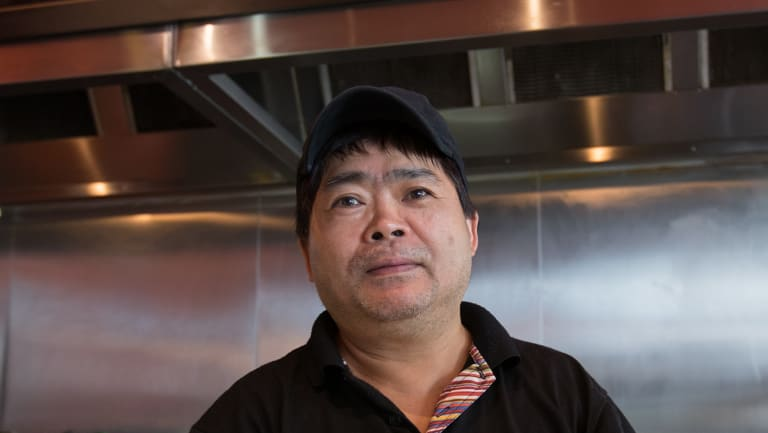 Jack Zeng's business was hit at the busiest time.
