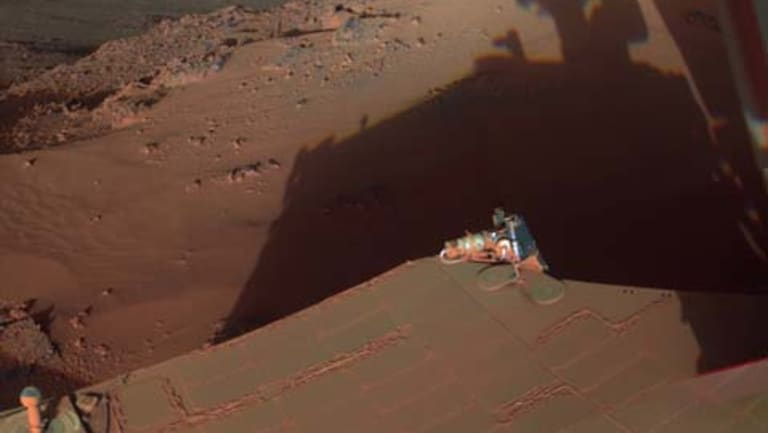mars rover knocked out - photo #1