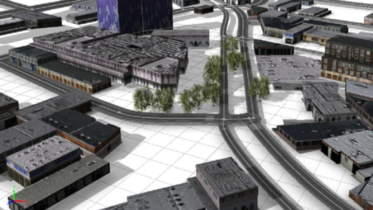 Example of students' work using ESRI's CityEngine program.