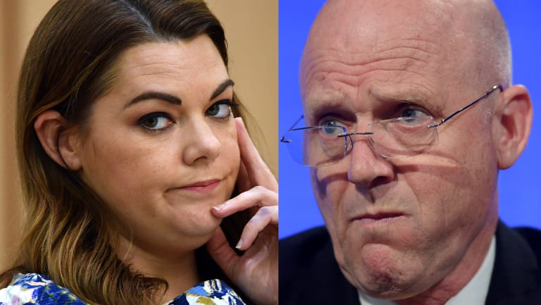 Sarah Hanson-Young and David Leyonhjelm are on the precipice of a defamation lawsuit.