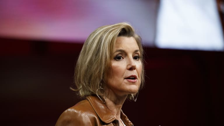 Sallie Krawcheck, co-founder and chief executive officer of Ellevest Financial.