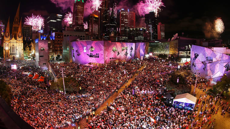 More than 500,000 people will enjoy the New Year's Eve celebrations this year.