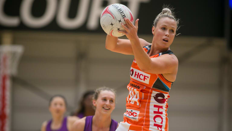 In high demand: Kim Green switched from the Swifts to the Giants.
