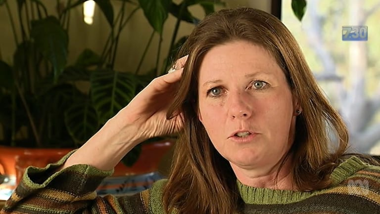Veterinarian Dr Lynn Simpson.