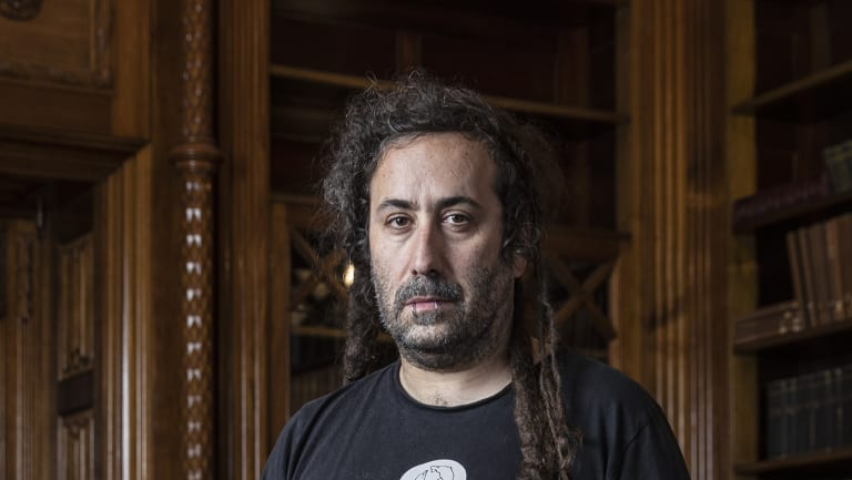 Author and Jewish punk rocker Bram Presser has taken out two NSW Premier's Literary Awards and the People's Choice Award with his debut novel The Book of Dirt.