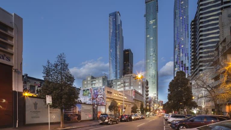 Chinese developer Holder East moves into Franklin Street.