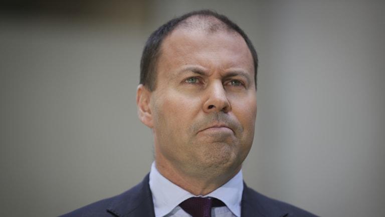 Energy and Environment Minister Josh Frydenberg.