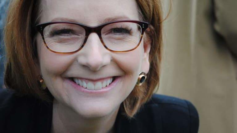 Julia Gillard says she should have talked more about her gender earlier in her prime ministership.