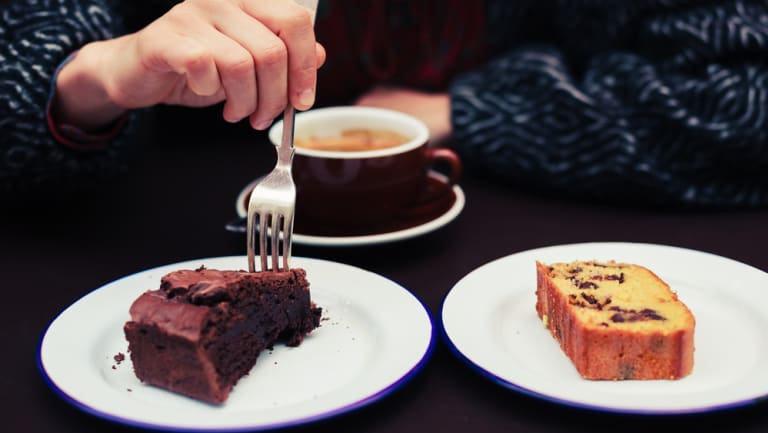 Being able to choose just one type of cake when there are two on offer is a good life skill.