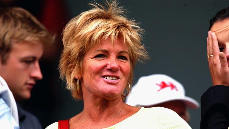 Shane Warne's mother Brigitte.
