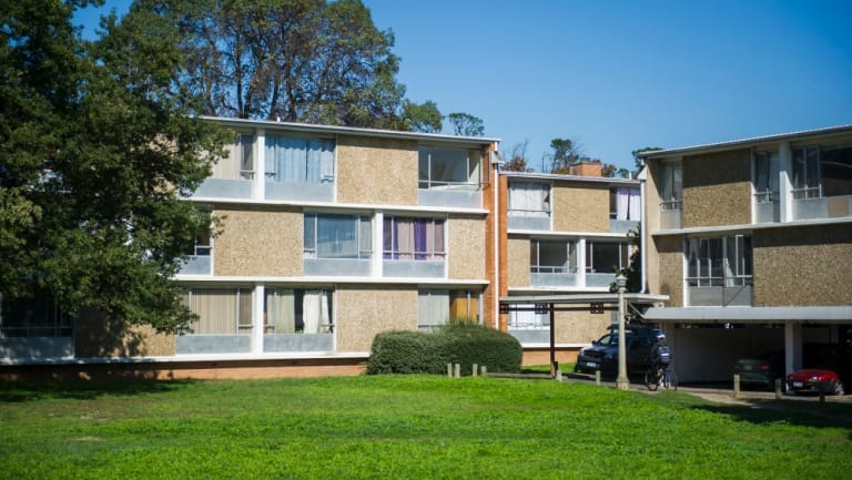 The Northbourne Flats in Canberra: replacing the ACT's ageing public housing stocks has been quite the saga.