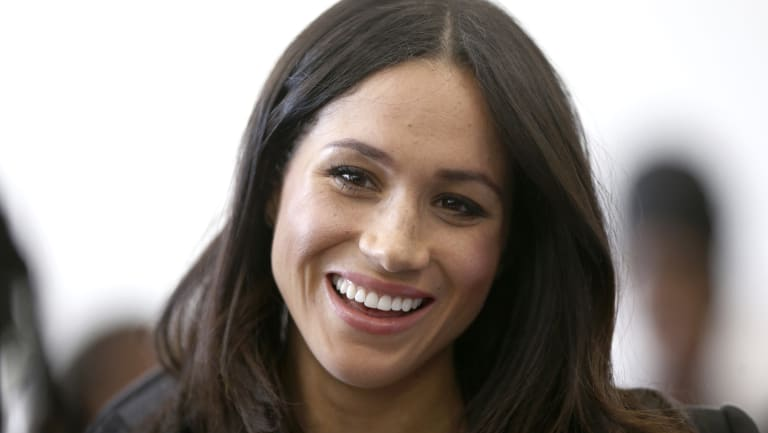Meghan Markle at a women's empowerment event.