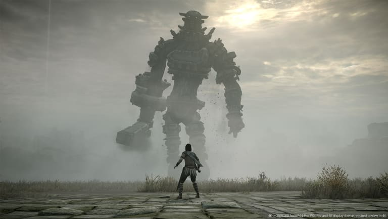The colossi differ in size and shape, but all are intimidating.