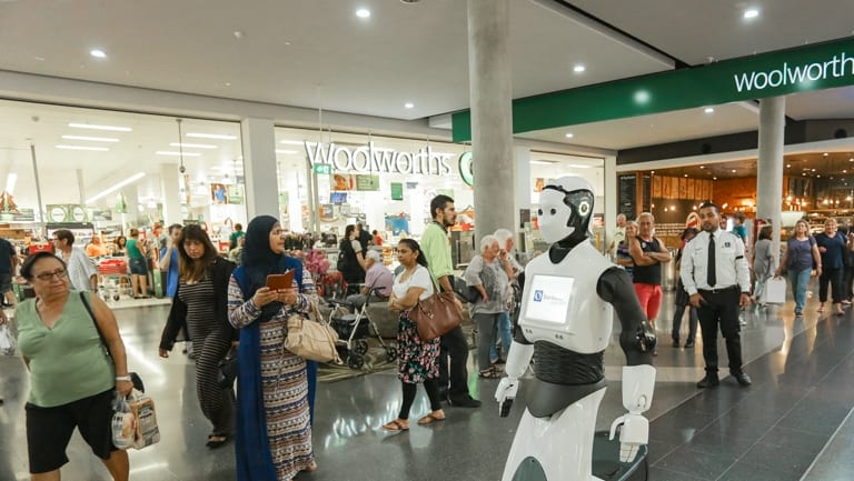 Chip*, a 1.7m tall, 100kg social humanoid robot, was developed by Spanish company PAL Robotics and one of only three models in the world being used at Stockland malls