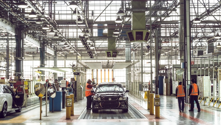 Holden closed its Elizabeth production plant on October 20, 2017