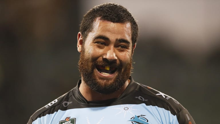 Still Blue: Andrew Fifita has committed his international future to Tonga, but it does not make it impossible for him to play for NSW.