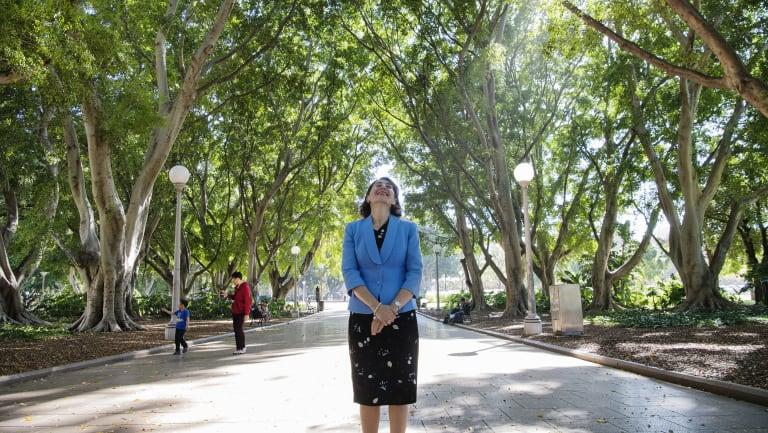 NSW Premier Gladys Berejiklian committed $37.5 million to planting five million trees across Sydney over the next 12 years.
